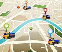 GPS nyomkövetés az optimális útvonal megtervezéséhez és távfelügyelet