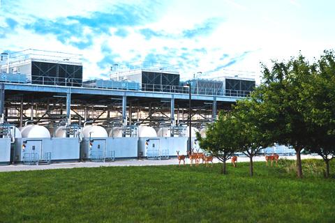 Egy környezetbarát adatközpont energiahatékony és fenntartható