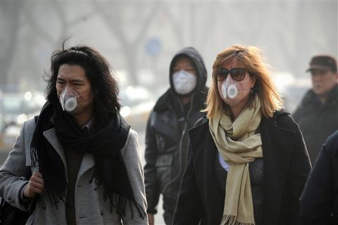 Kínában kritikus a szmoghelyzet