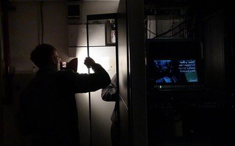 A tartalék áramellátás egy szerver-teremben kulcsfontosságú